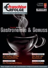 Download this publication as PDF - franchise ERFOLGE