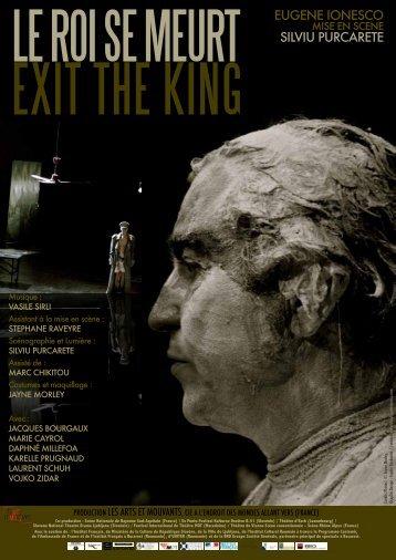Dossier artistique Le Roi se meurt - Les Arts et Mouvants