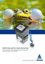 HSPG-5 Handschuhprüfgerät für RABS, Isolator, Glovebox - Skan AG