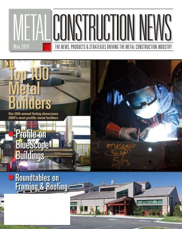 Profile on BlueScope Buildings - Metal Construction News