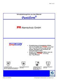 Puntiform - PM Atemschutz