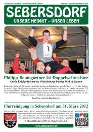 Gemeindezeitung März 2012 - Gemeinde und Tourismusverband ...
