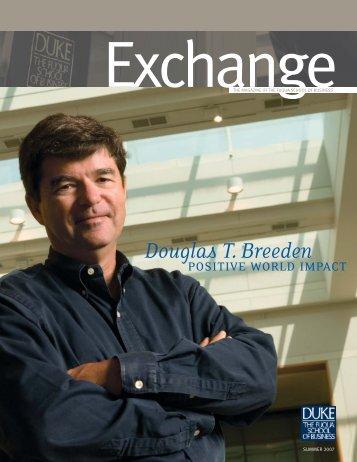 Douglas T. Breeden - Duke University's Fuqua School of Business