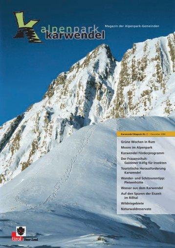 Karwendel Magazin Nr. 2 - Alpenpark Karwendel