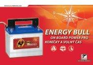 ENERGY BULL - Banner Batterien
