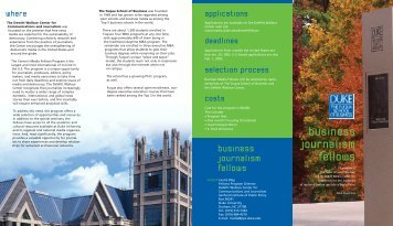 31338/Fuqua Brochure 12/4/01 - Duke University's Fuqua School of ...