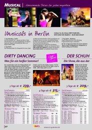 Musical Musical DIRTY DANCING DIRTY DANCING DER SCHUH ...