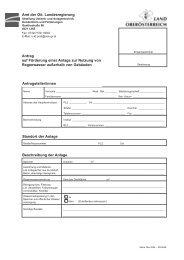 Informationsblatt für die Antragsteller/innen - Land Oberösterreich