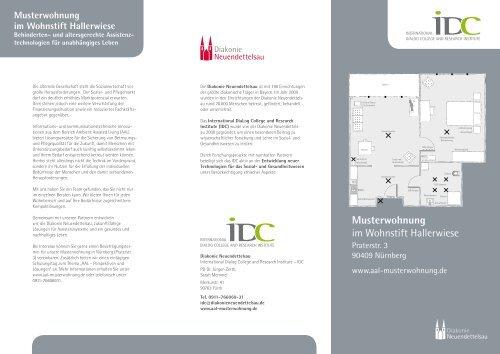 Musterwohnung im Wohnstift Hallerwiese - IDC - International ...