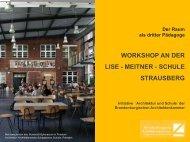 workshop an der lise - meitner - schule strausberg - kobra.net