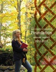 Foundation - Nicolet College