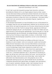 Aus der Geschichte der Kohlhäuser Schule im alten Zoll- und ...