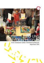Erster trinationaler Schüler-Architekturwettbewerb Regio Basel 2010
