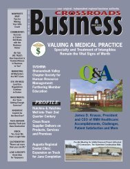 QA - Crossroads Business Magazine