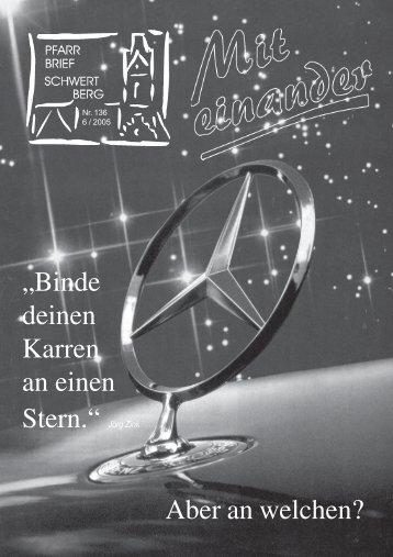 unterricht 2003 - das Jahr der Bibel n stehen - Pfarre Schwertberg ...