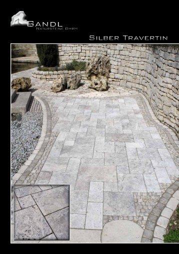 Silber Travertin - Gandl Natursteine GmbH