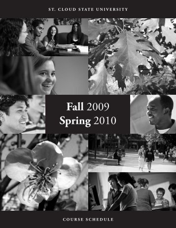 fall.spring 2009-10.qxd - St. Cloud State University