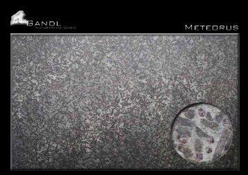 Gandl Meteorus - Gandl Natursteine GmbH