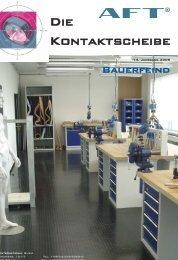 Kontaktscheibe 2 /2008 - AFT International GmbH