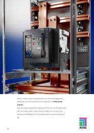 Busbar systems up to 800 A/1600 A (60 mm)