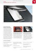 ROTO Sonnenschutz Wohndachfenster - Dekoration ... - TKM Fenster - Page 7