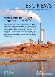PDF hier - ESC - ETH Zürich