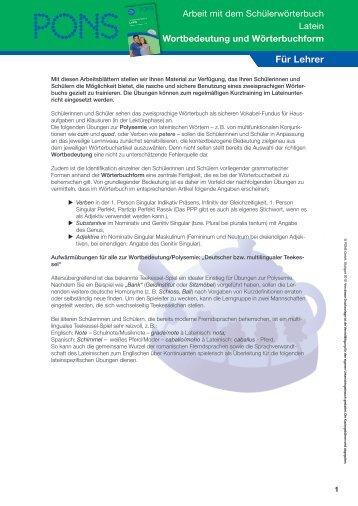 Musterbriefe Pons : Musterbriefe zum kopieren pons
