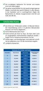 Gute Karten für Schüler und Azubis! - saarVV - Seite 3