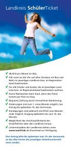 Gute Karten für Schüler und Azubis! - saarVV - Seite 4