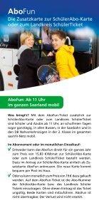 Gute Karten für Schüler und Azubis! - saarVV - Seite 6
