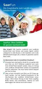 Gute Karten für Schüler und Azubis! - saarVV - Seite 7