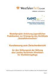 DOWNLOAD Kurzfassung Zwischenbericht Projekt ... - Westfalenfleiß