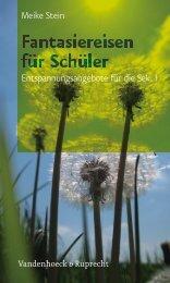 Fantasiereisen für Schüler - Vandenhoeck & Ruprecht