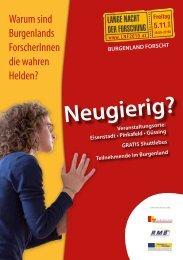 Teilnehmende im Burgenland - Regionalmanagement Burgenland
