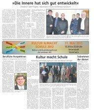 kultur n/macht schule 2012 - Stadt Steinheim