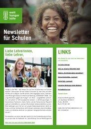 Download des Newsletters (PDF) - Welthungerhilfe