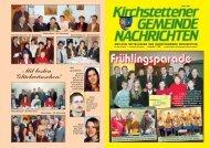 Gemeindezeitung, 1. Quartal 2005 - Marktgemeinde Kirchstetten