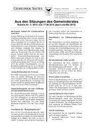 April und Mai 2012 (pdf) - Gemeinde Sattel