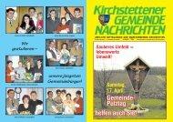 Gemeindezeitung, 01. Quartal 2004 - Marktgemeinde Kirchstetten