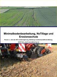 Minimalbodenbearbeitung - Land-Impulse