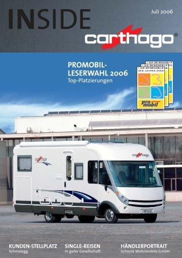 PROMOBIL- LESERWAHL 2006 - Carthago Reisemobilbau GmbH