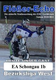 """EA Schongau 1b """"Mammuts"""" - ERC Lechbruck"""