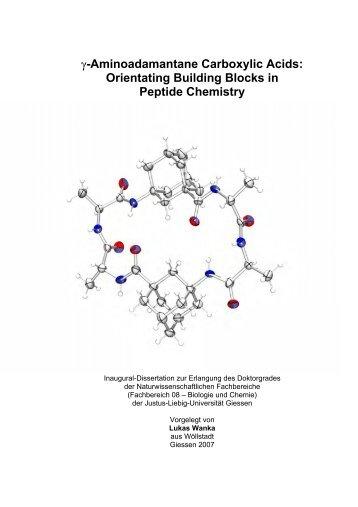 Gamma-Aminoadamantane Carboxylic Acids
