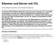 Klienten und Server mit TCL (1)