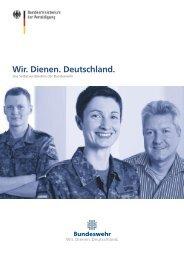 Wir. Dienen. Deutschland. - Ziviler Arbeitgeber Bundeswehr