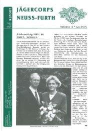 1995 Pfingsten Ausgabe: 08 - Jägercorps Neuss - Furth 1932