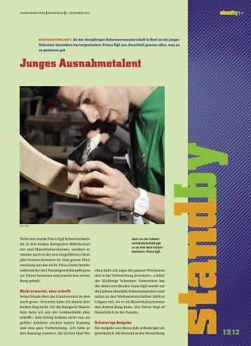 Standby Dezember 2012 - KARRIEREPASS.ch