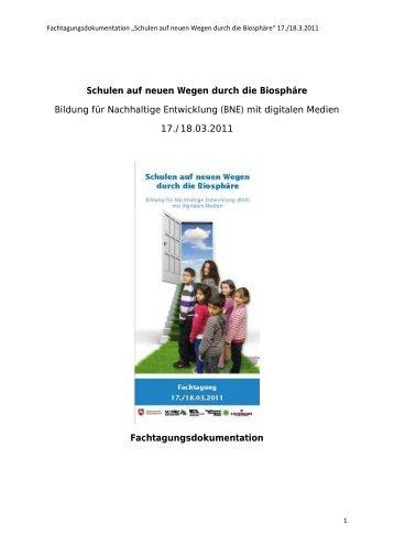 Bildung für nachhaltige Entwicklung (BNE) - NaviNatur