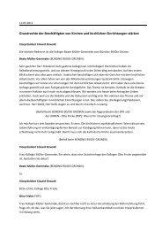 Grundrechte der Beschäftigten von Kirchen und kirchlichen ...