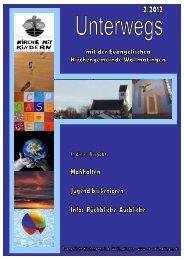 GemBrief_Sommer2012.pdf - Evangelische Kirchengemeinde ...